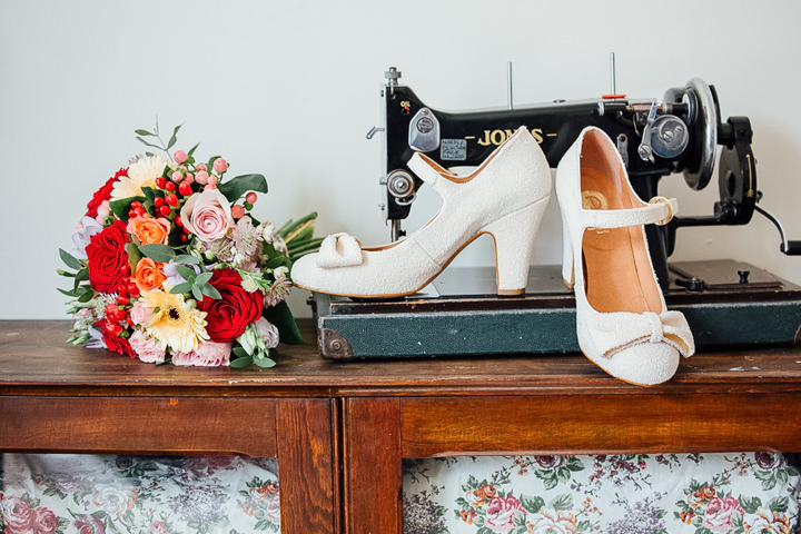 Homespun Vintage Inspired North Yorkshire Wedding by Mr and Mrs Photography
