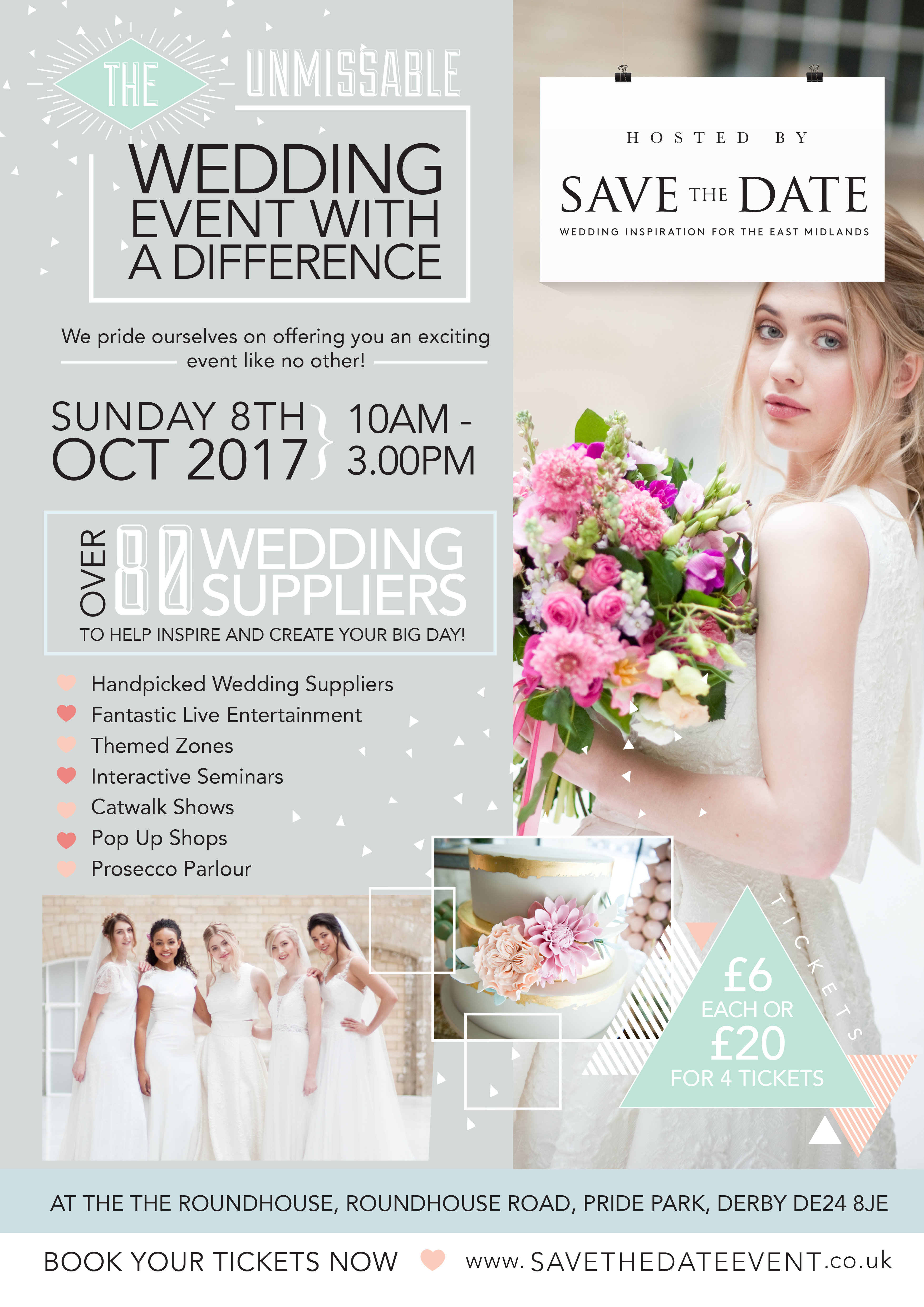 The Wedding Event with a Difference - Derby - Boho Weddings For the ...
