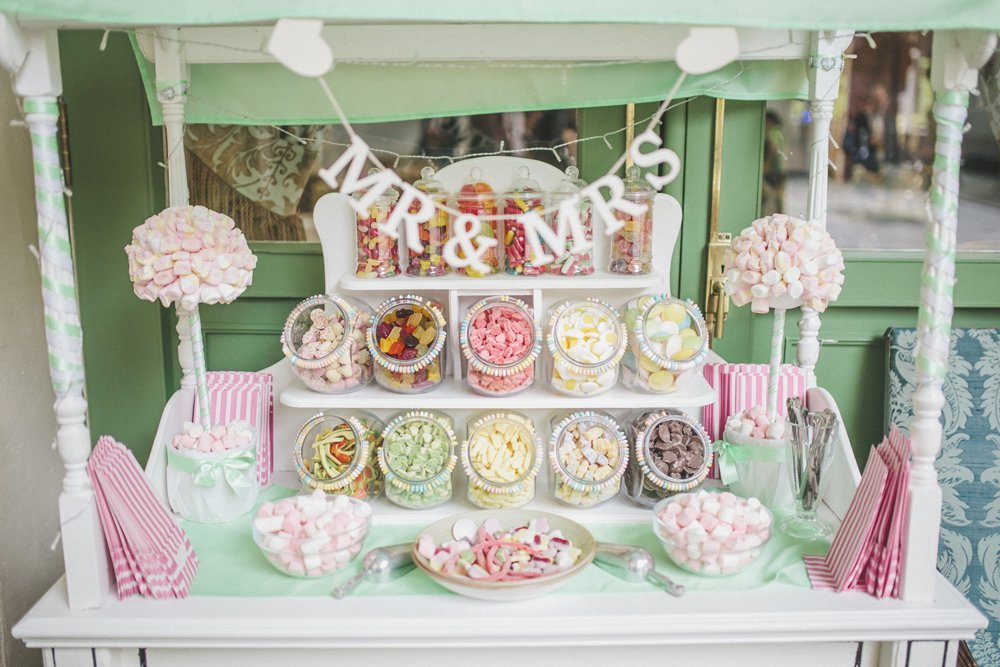 Candy Table For Wedding - Wedding Photography