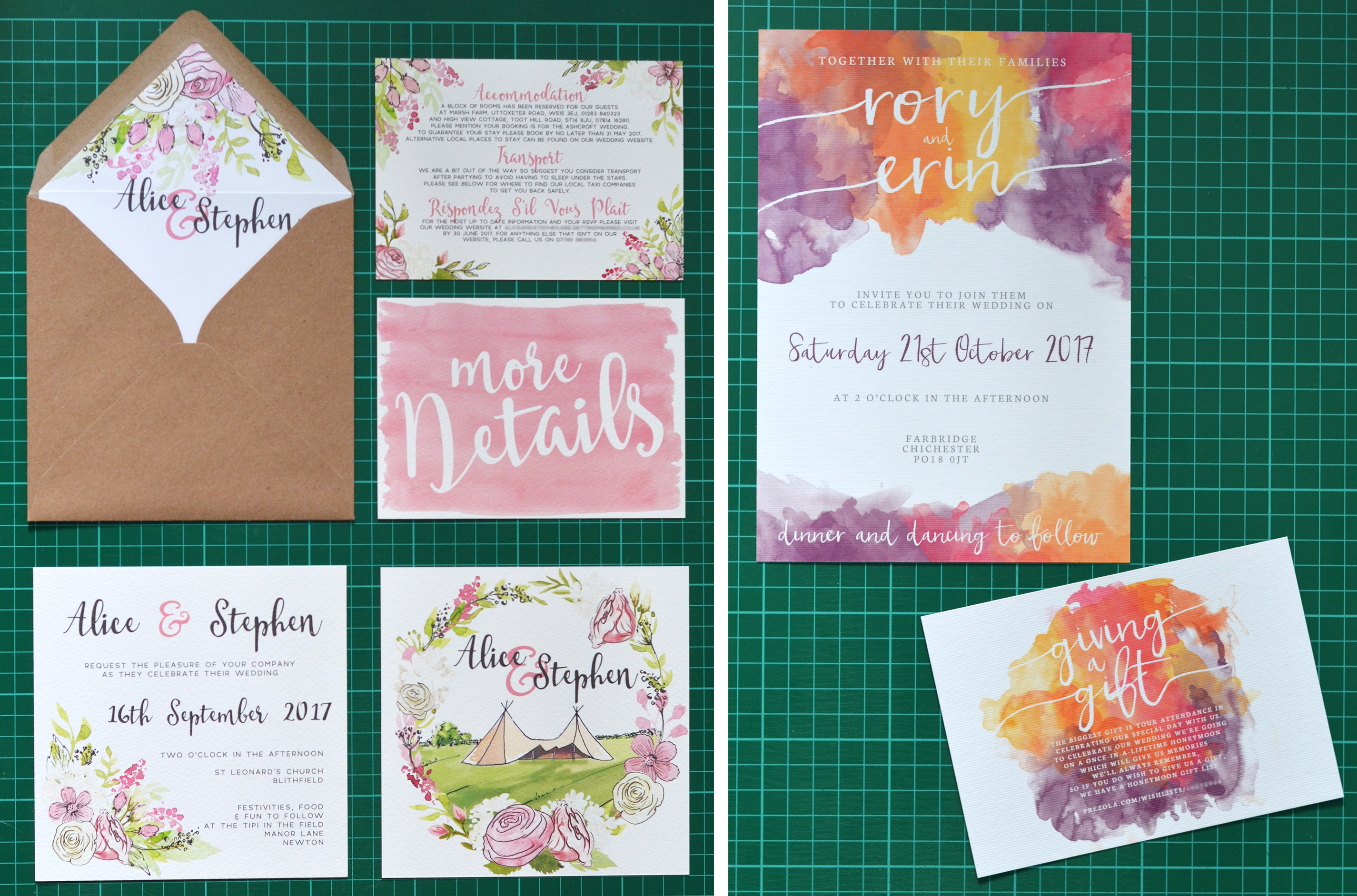 Ask The Experts: Wedding stationery - Personalised or Bespoke? with Hawthorn & Ivory Stationery