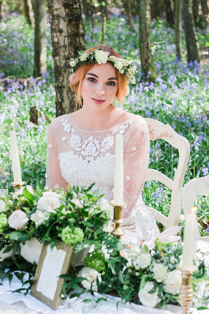 English Bluebell Woodland Wedding Inspiration