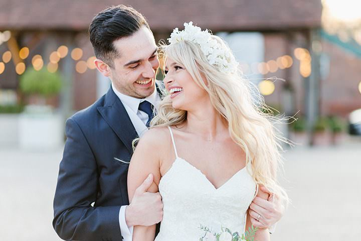 Thomas and Emily's Pretty Pastel Gaynes Park Wedding by Ilaria Petrucci
