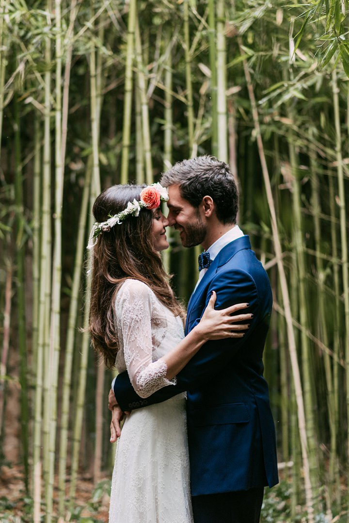 Mireia and Artur's Stunning Spanish Wedding with First Look by Sara Lobla