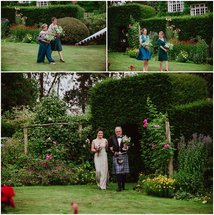 Personal Homemade Backgarden Wedding by Joshua Wyborn