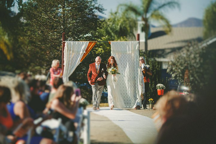 'Harley's and Hippies' Woodstock Inspired California Wedding Extravaganza by Ryan Horban