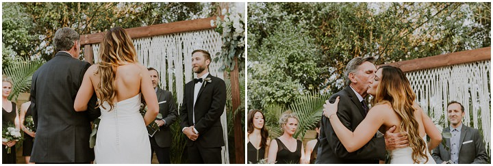 Robyn and Andrew's Surprise April Fool's Boho Wedding in Florida by Migrant Collective Weddings