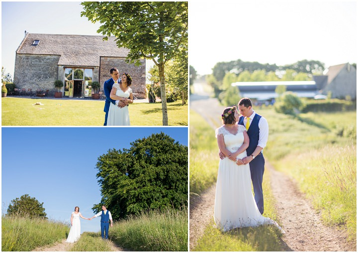 Rebecca and Craig's Bright, Multi-coloured and Geometric Barn Wedding in Gloucestershire by Courtney Louise