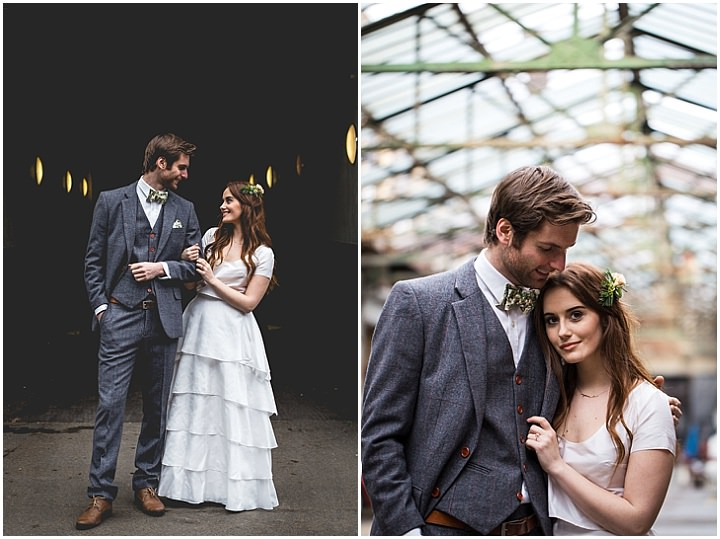 Botanical Meets Industrial Handmade Warehouse Wedding Inspiration from London Local Weddings