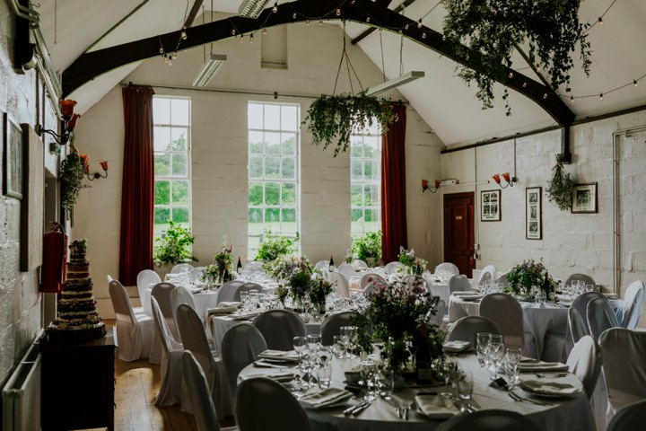 Tessa And Stephens Woodland Themed Village Hall Wedding In Oxford