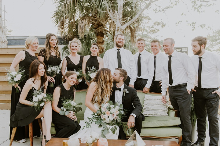 Surprise April Fool's Boho Wedding in Florida by Migrant Collective Weddings