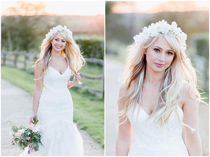 Pretty Pastel Gaynes Park Wedding by Ilaria Petrucci