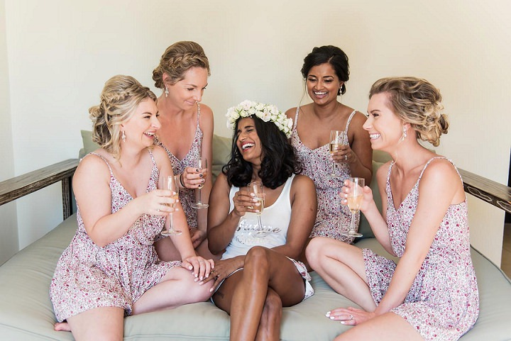 India meets Australia meets Canada Beach Wedding in Mexico by Bohemia Del Mar