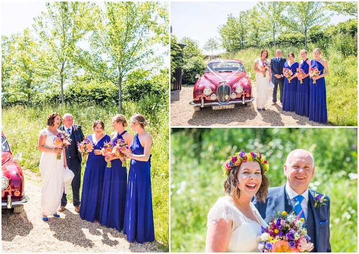 Bright, Multi-coloured and Geometric Barn Wedding in Gloucestershire by Courtney Louise