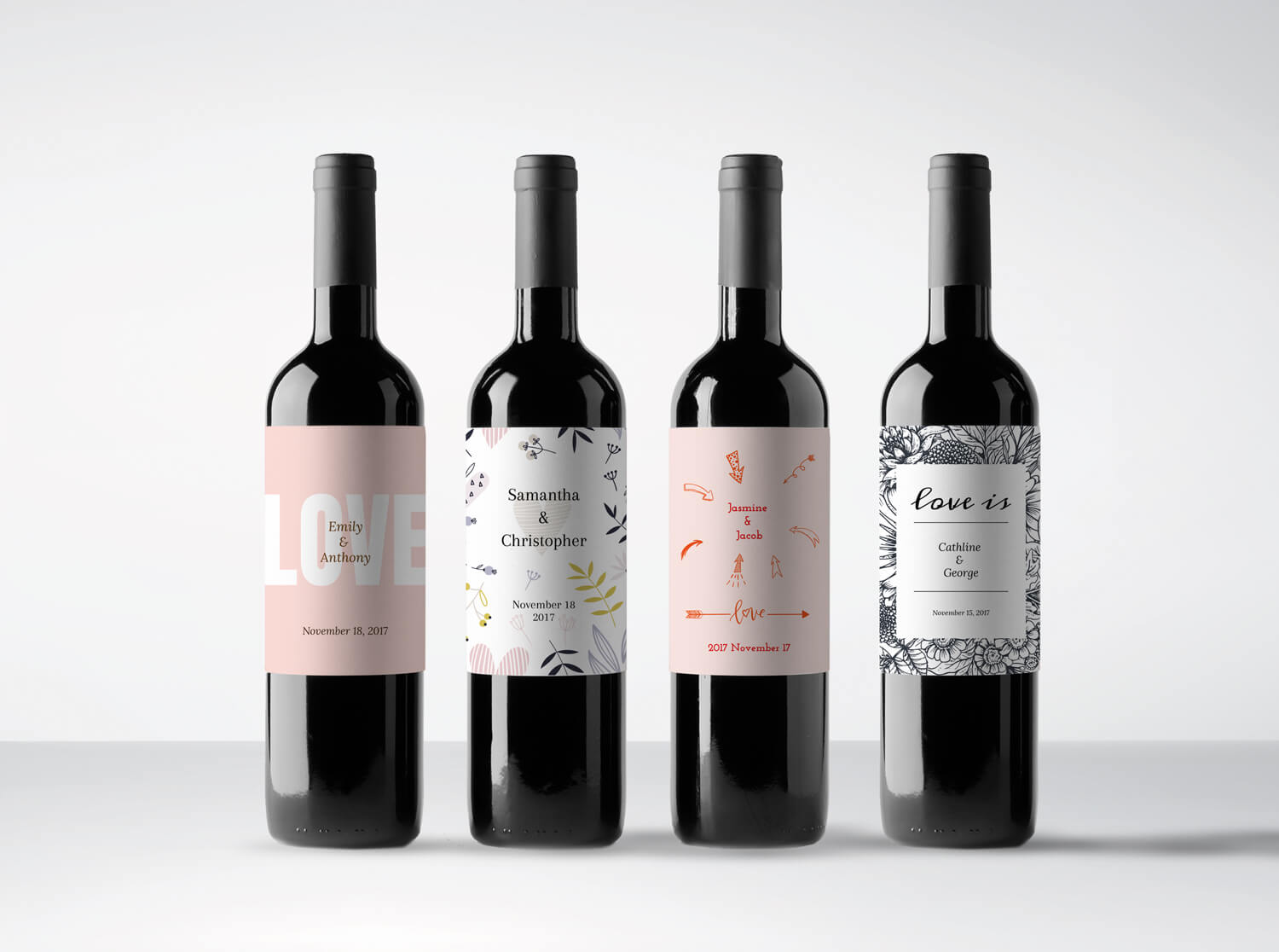 Boho Loves - My Uniq Wines Personalised Wines for Bespoke Weddings