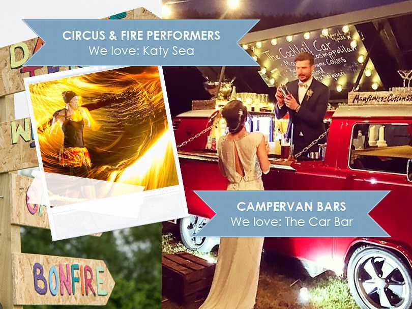 21+ Boho & Festival Style Wedding Entertainment Ideas from Alive Entertainment