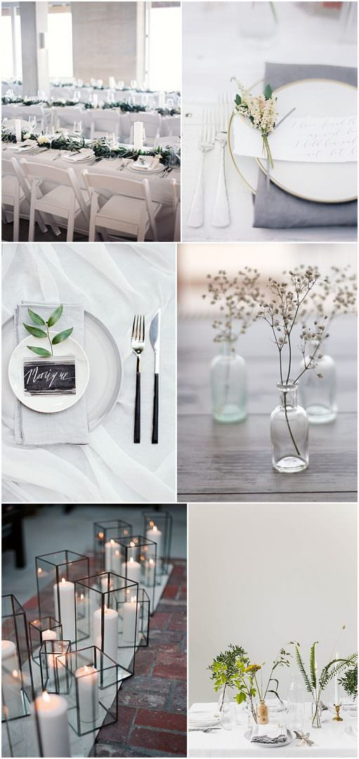 Ideas and Inspiration For Your Modern Neutral Wedding