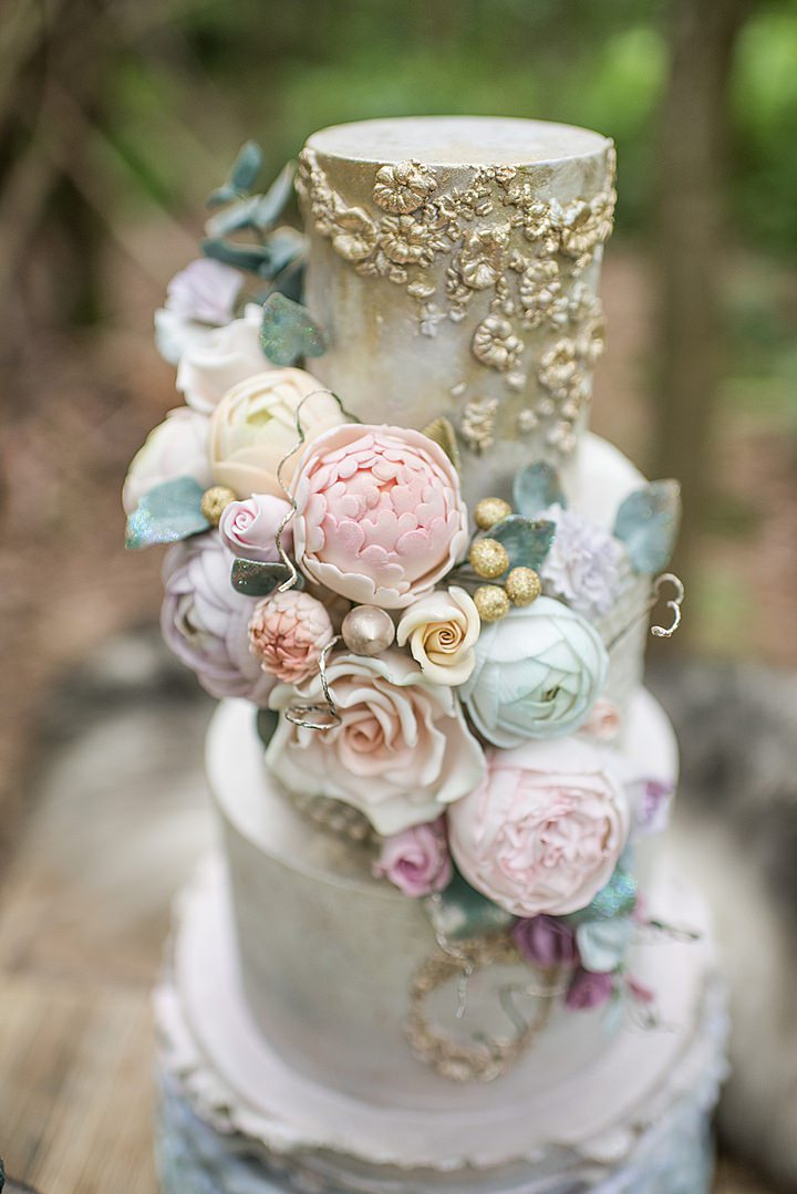 Cornucopia of Mermaid Bohemia Wedding Inspiration Shoot