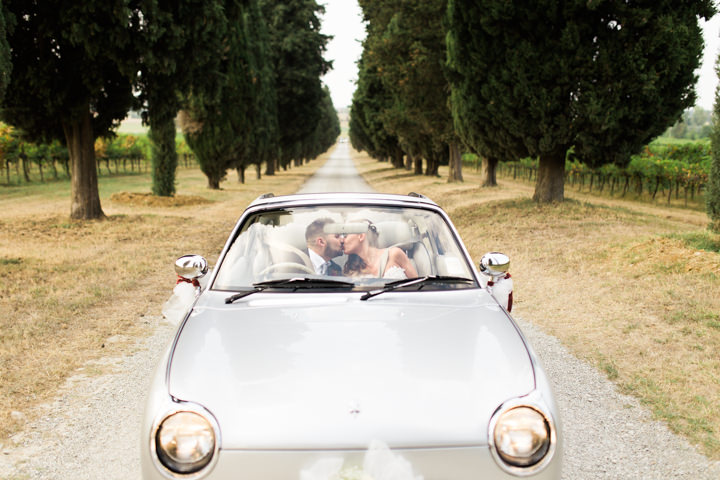 Valentina and Mirko's Beautiful Outdoor Italian Wedding by Ajlan Guzey