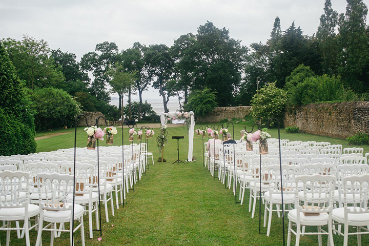 Origami Filled French Château Wedding by Estudio Dita
