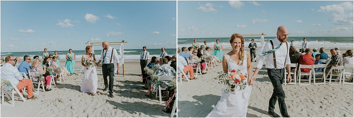 Backyard Boho Beach Wedding by Sarah Joann Photography