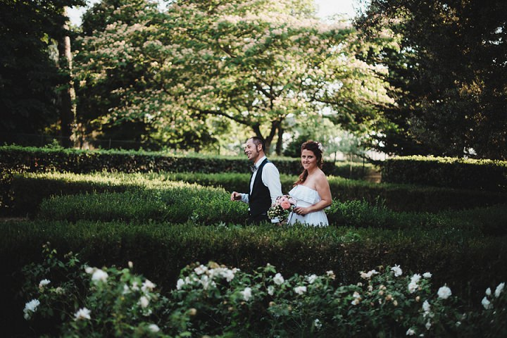 Relaxed Back Garden Bohemian Wedding by Parade and BEM Photography