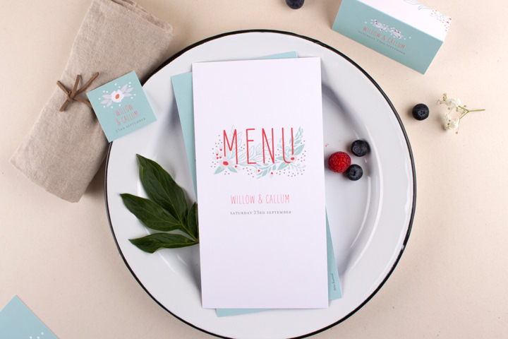 Boho Loves: Elegant Personalised Stationery from Rosemood Atelier