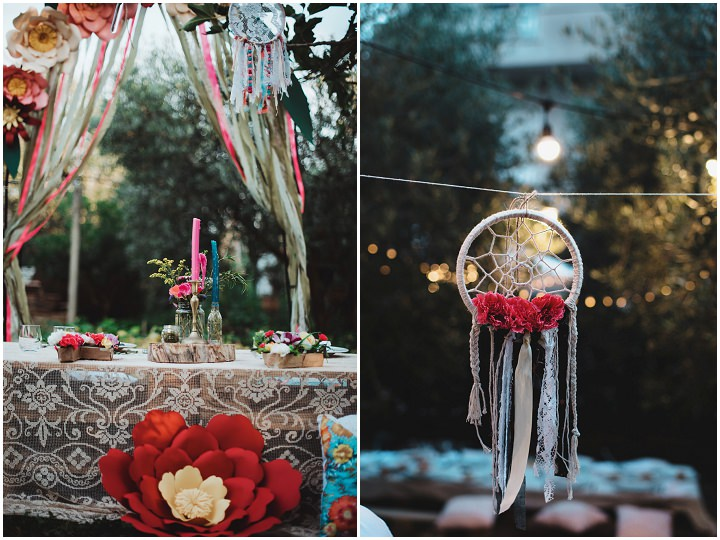 Relaxed Back Garden Bohemain Wedding by Parade and BEM Photography