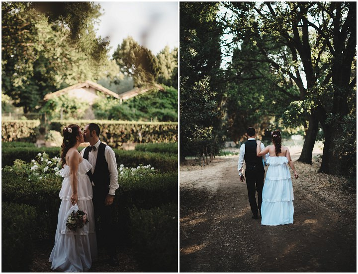 vRelaxed Back Garden Bohemian Wedding by Parade and BEM Photography