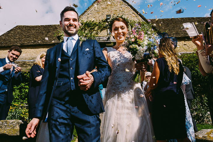 Beach Themed Cotswolds Barn Wedding by Kevin Belson Photography
