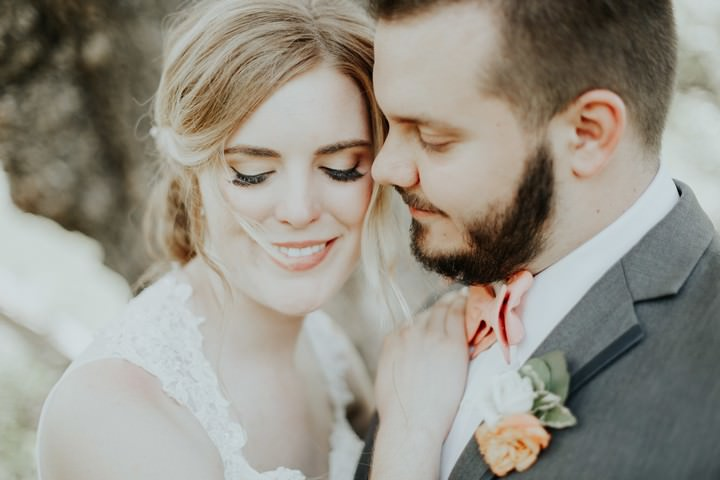 Angela and Anthony's Elegant Peach and Gold Outdoor Canadian Wedding by Todor Wedding Co.