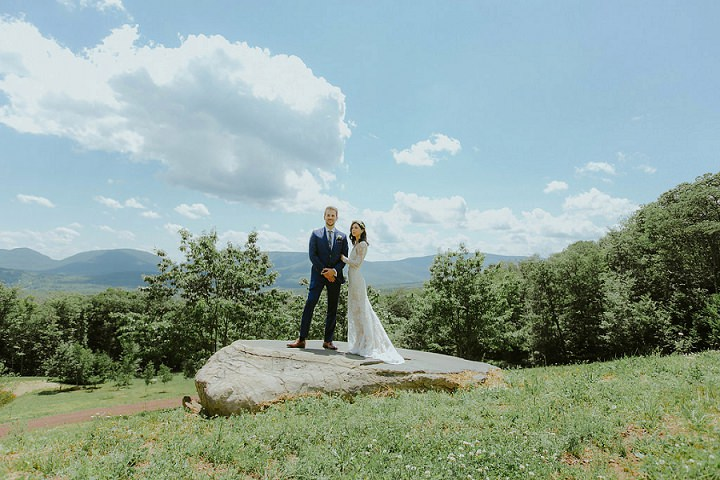 Romantic Rustic Chic New York Wedding by Amber Gress Photography