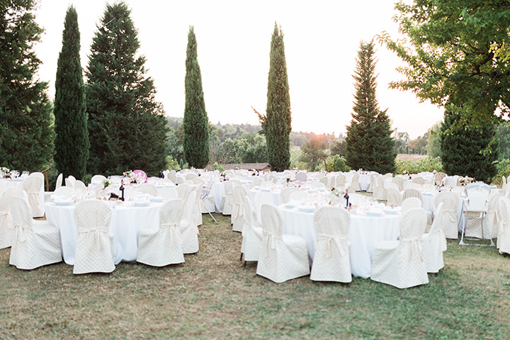 Beautiful Outdoor Italian Wedding by Ajlan Guzey
