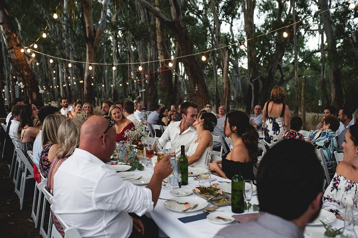 Kate and Joel's Outdoor DIY Wedding by the Murry River in Australia by Tahnee Jade Photography