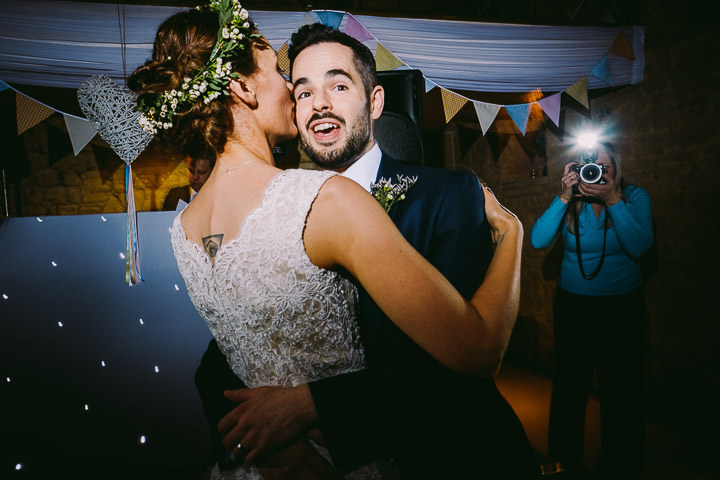 Beach Themed Cotswolds Barn Wedding byKevin Belson Photography