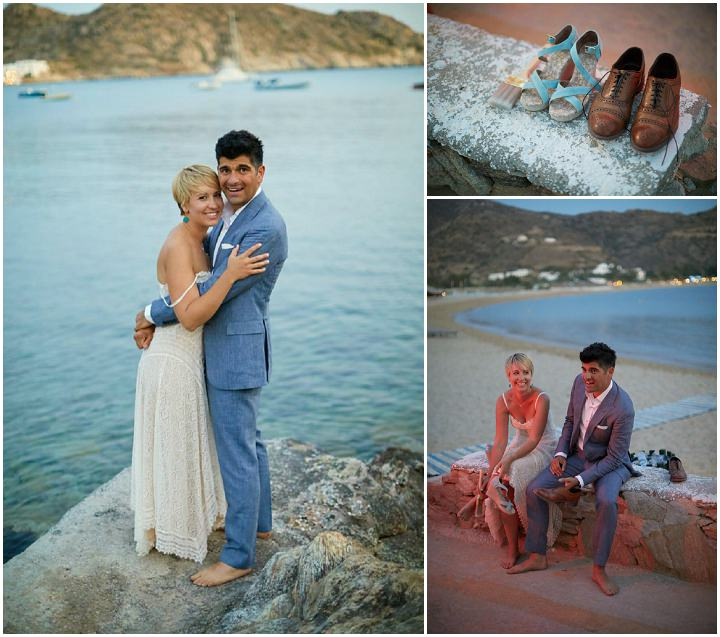 Beautiful Beach Wedding in Greece by Sotiris Tsakanikas