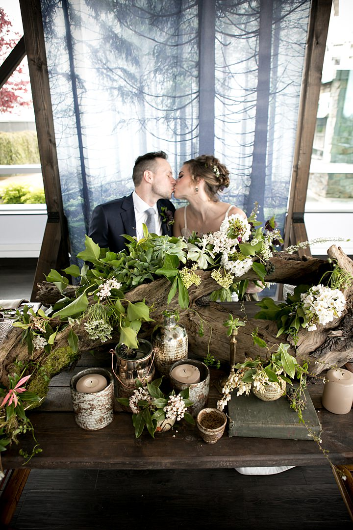 West Coast Eco Earth Day Elopement Inspiration from Hattie Root Photography