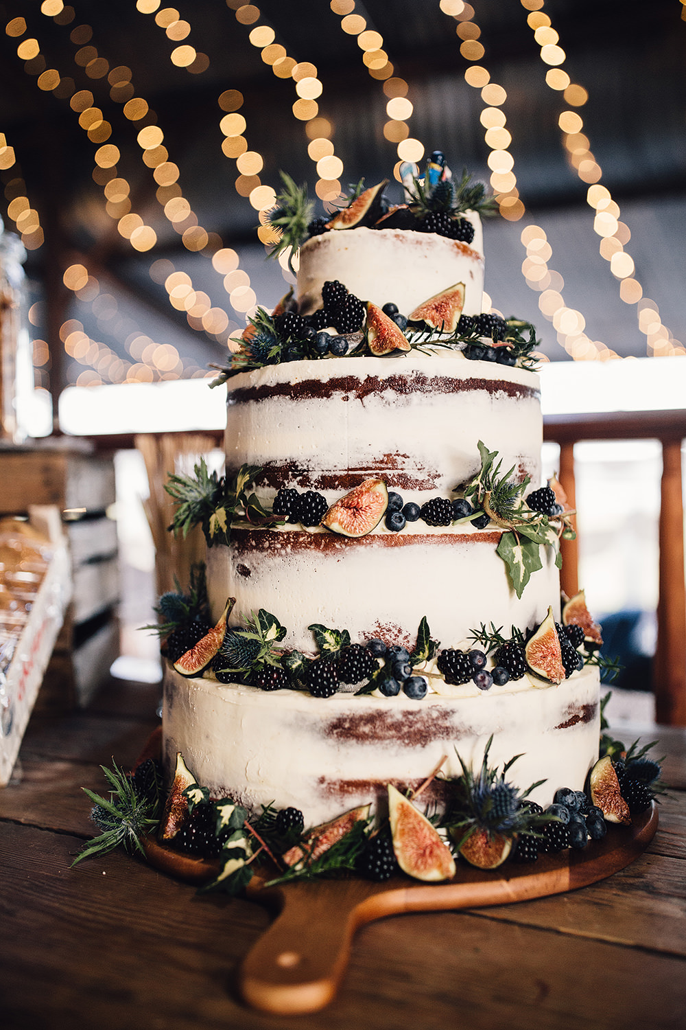 Tier Wedding Cake Autumn