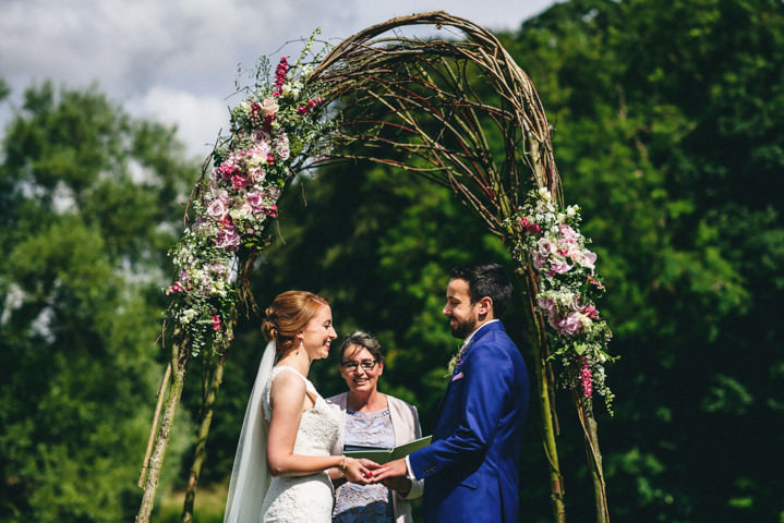 Boho Pins: Top 10 Pins of the Week - Ceremony Backdrops
