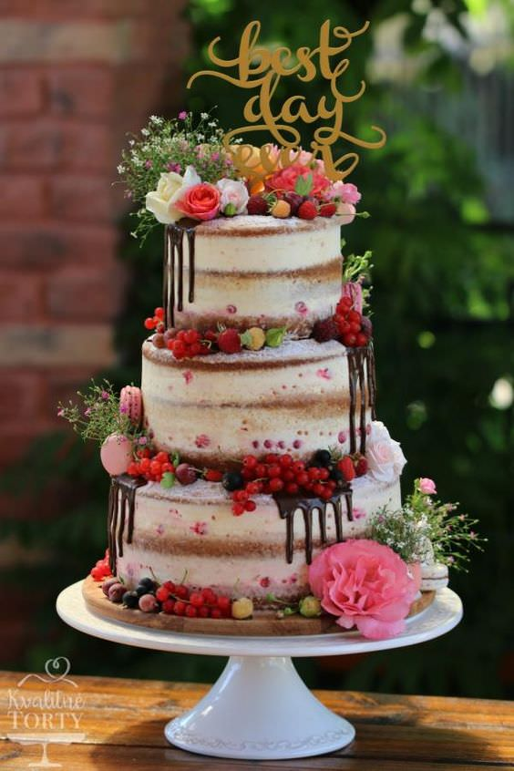 Boho Pins: Top 10 Pins of the Week - Naked Wedding Cakes - Boho ...