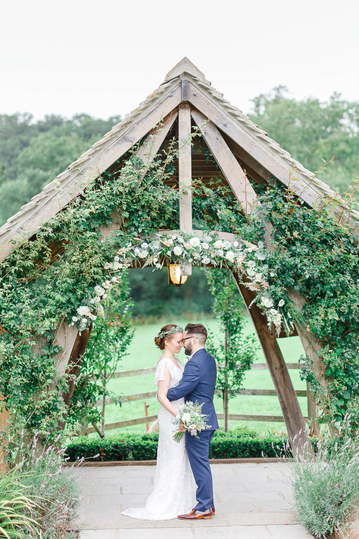 Botanical Themed England Meets Portugal Barn Wedding In The Cotswolds By White Stag Photography
