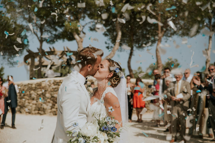 Wedding In Spanish.Isabell And Jamie S Stunning Sea Themed Spanish Wedding By El Jardin