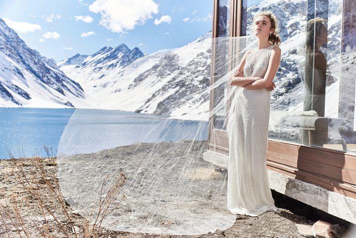 Bridal Style: BHLDN Winter Weather Brides – 'Snowed In'