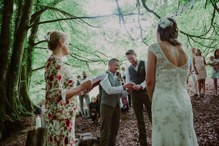 Laid Back, DIY Woodland Wedding in Somerset by Special Wedding Day Photos