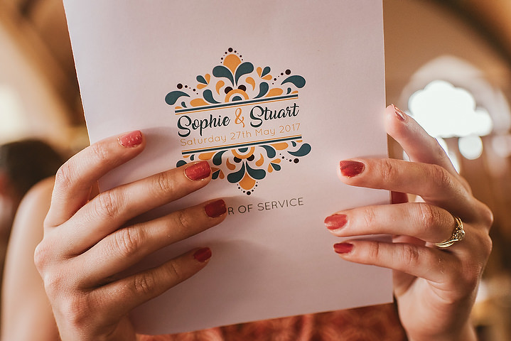 Sophie and Stuart's Sixties Retro Mini Garden Festival Wedding by Andy Gaines