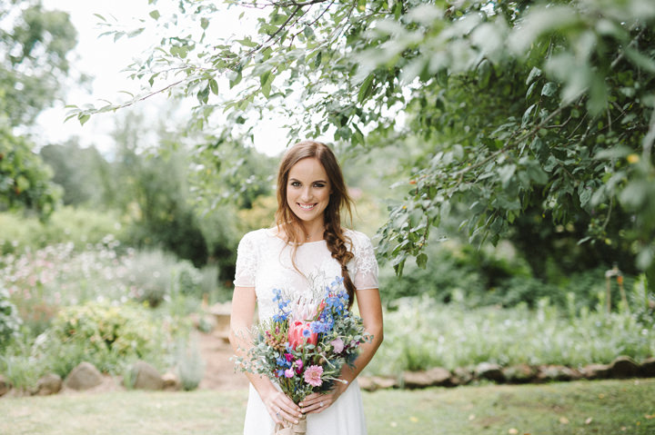Courtney and Brian's Wild Flowers and Food Trucks Relaxed South African Wedding by Bright Girl