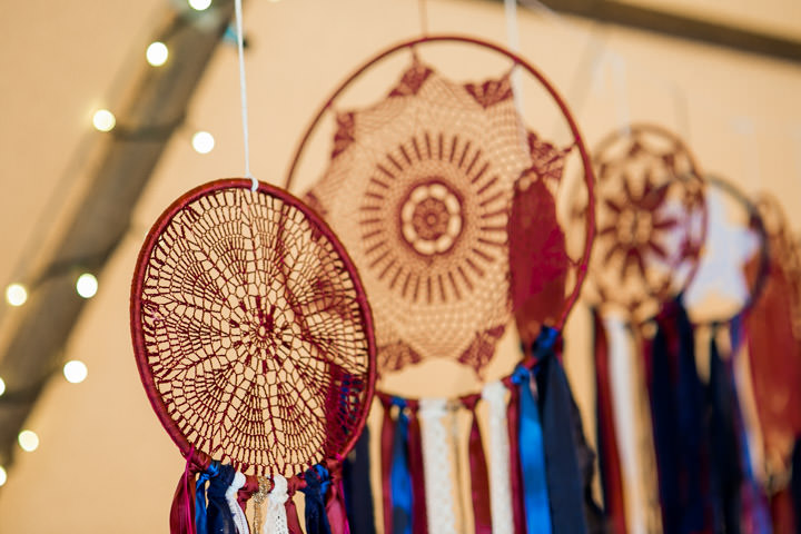 Burgundy and Bohemian Festival Wedding Inspiration