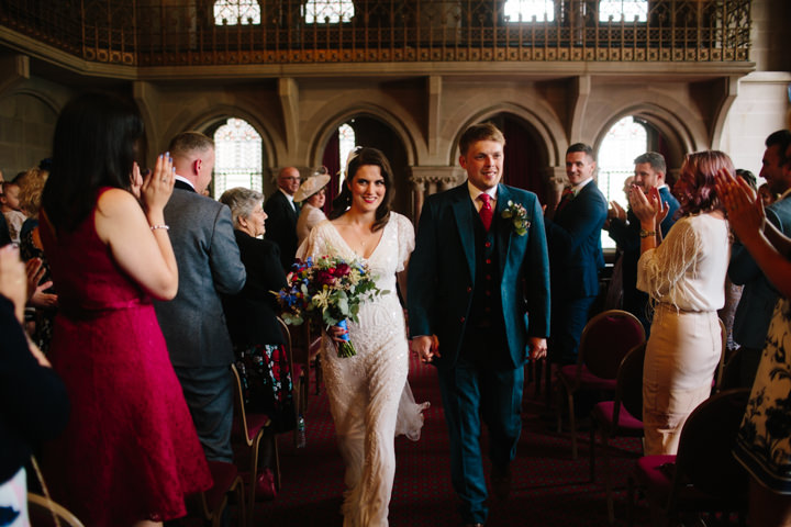Neill and Pip's Relaxed Street Food Wedding in Manchester City Centre by Dan Hough