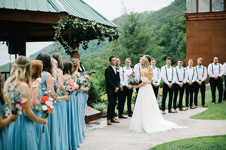 Enchanted Forest Wedding | Jordan And Jonathan S Enchanted Forest Wedding In Tennessee By Like