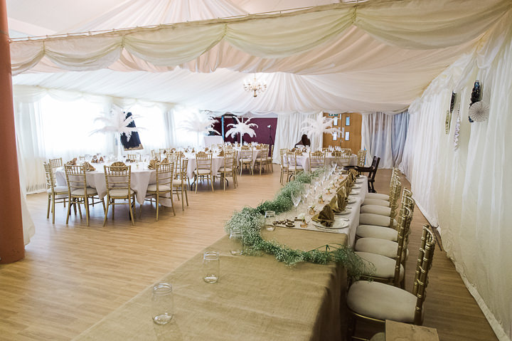 Chris and Charlotte's 'Don't Tell The Bride' Giant Inflatable Obstacle Course Meets Stylish 1920's Wedding by Joanna Cleeve