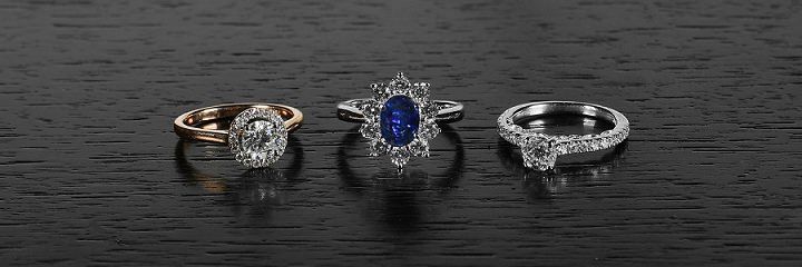 diamond heaven engagement and wedding rings
